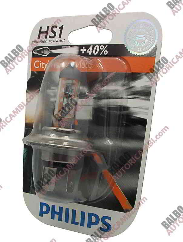 Lampada HS1 PHILIPS City Vision +40%