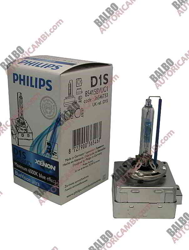 Lampada H.I.D. Philips D1S WhiteVision Ultra PK32d-2